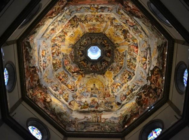 Detalle de la cúpula de la Basilica Santa Maria del Fiore - Florencia