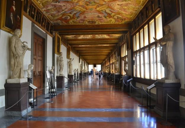 Pabellón de la Galleria degli Uffizi - Florencia