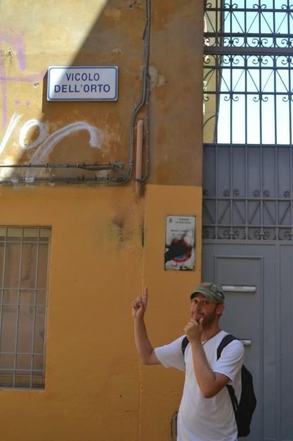 Mmm... ese nombre me hace pensar mal del callejón - Bologna