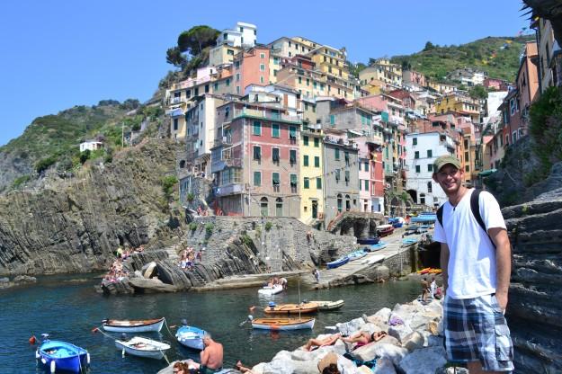 Riomaggiore, el primer fabuloso pueblito de Cinque Terre