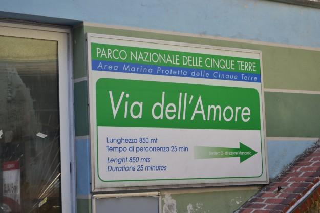 Via dell'Amore, en Cinque Terre