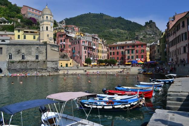 Vernazza, el cuarto pueblito de Cinque Terre