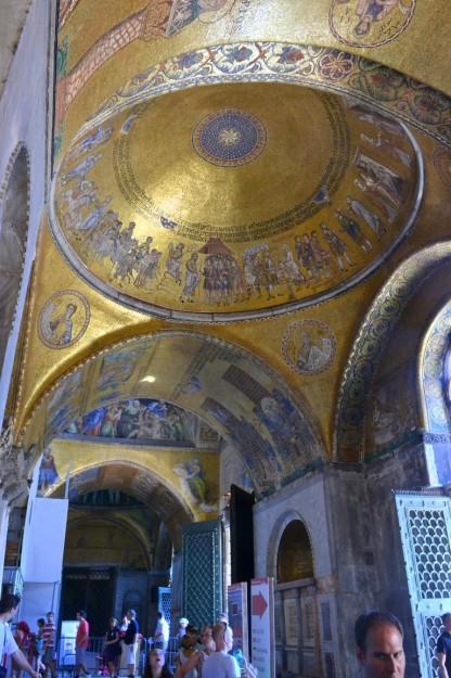 Duomo de Venecia, recubierto en oro