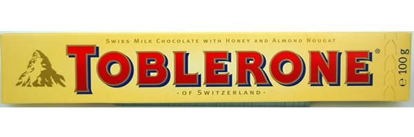 El famoso Toblerone, con el logo del Matterhorn