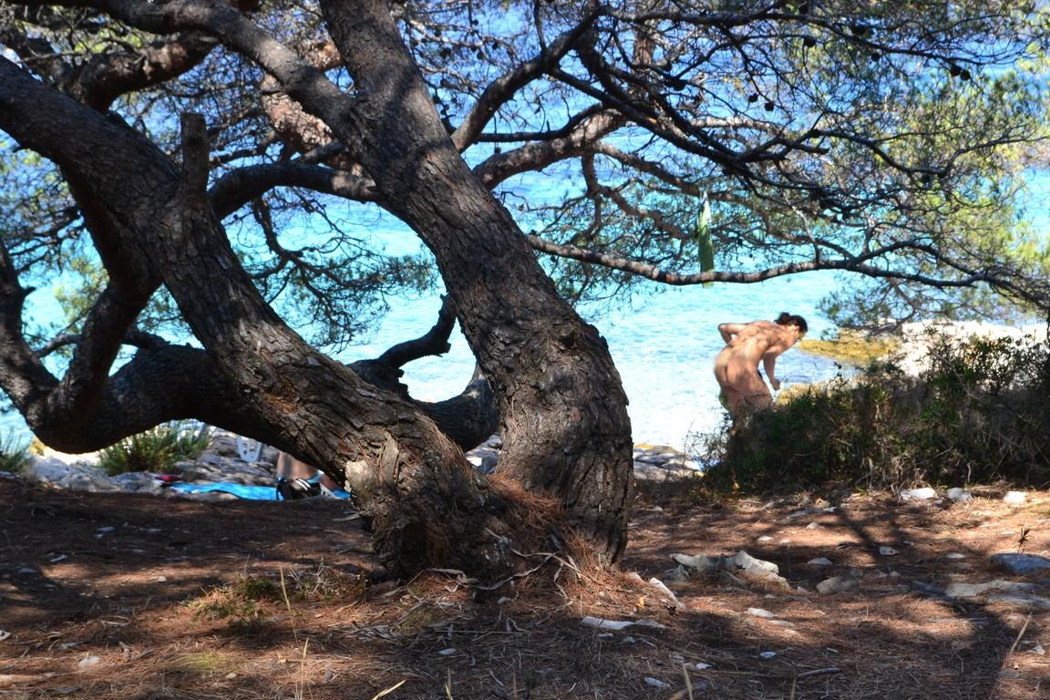 Playa nudista de Jerolim