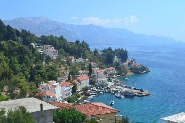 Paisajes de la hermosa costa croata