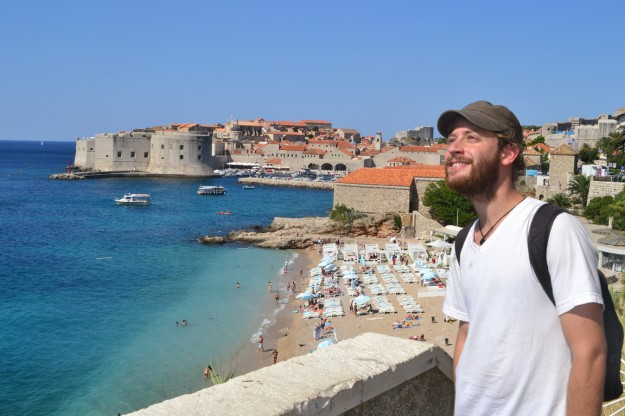 Un loco barbudo suelto en Dubrovnik