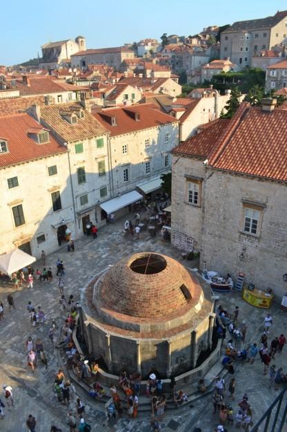 Vistas de Dubrovnik desde sus murallas