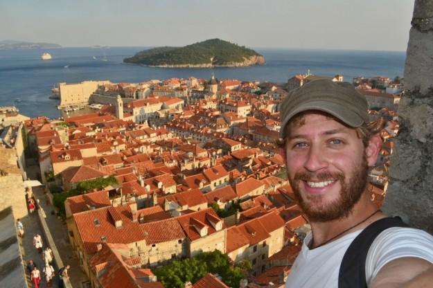 Panorámica de la ciudad de Dubrovnik desde sus murallas