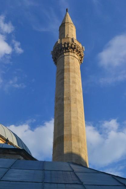 Minarete de la mezquita Karadjozbey, Mostar