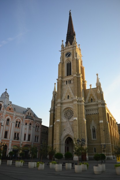 Iglesia católica de Novi Sad, Región Autónoma de Vojvodina