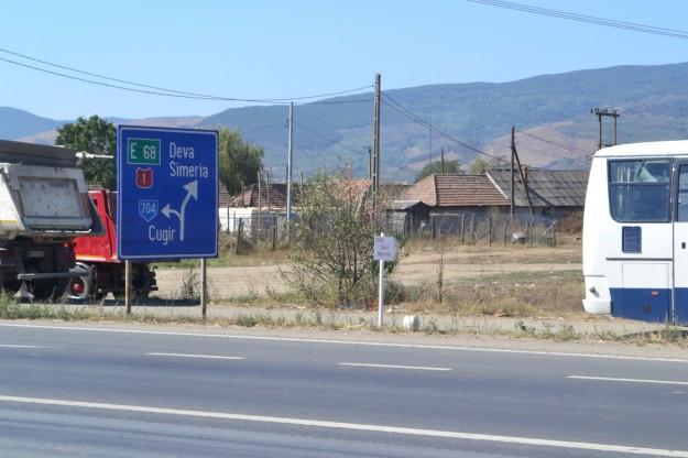 Rutas rumanas. Geniales para autostop.
