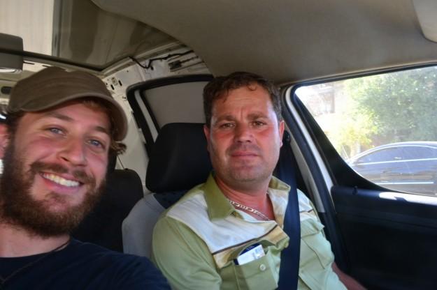 Ioan, quién me llevó 200km en autostop por Rumania