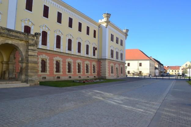 Las calles de Alba Iulia, antigua ciudadela romana