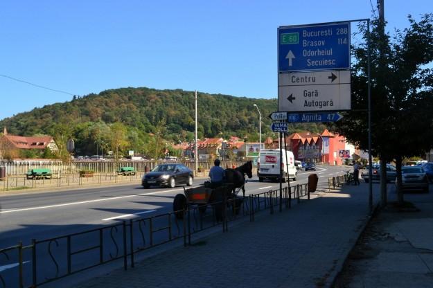 Viajando a dedo por las rutas rumanas
