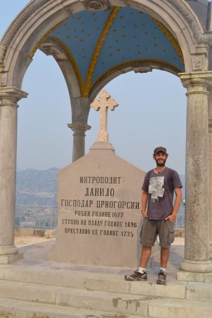Mausoleo del arzobispo Orlov Krs en Cetinje, Montenegro