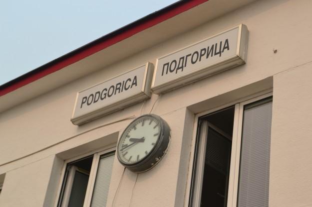 Estación de trenes de Podgorica, Montenegro