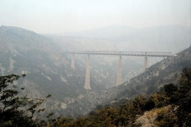 Mala Rijeka, el viaducto ferroviario más alto del mundo. Montenegro