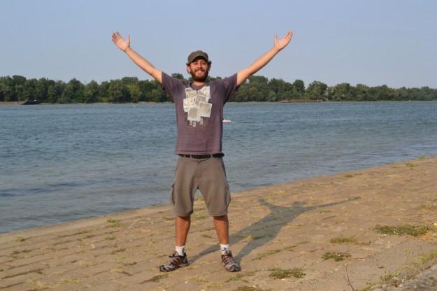 ¡Por primera vez, en el Río Danubio! Belgrado, Serbia