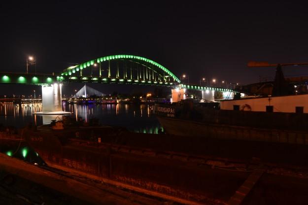 Panorama nocturno de Belgrado, una de las ciudades con mejor noche de Europa