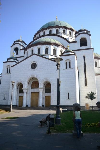 Templo de San Sava, Belgrado. La segunda iglesia ortodoxa más grande