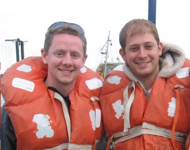 Con Daniel, en Puerto Madryn - Argentina, 2011