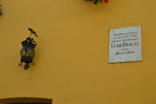 Casa donde nació Vlad Tepes Dracul - Sighisoara