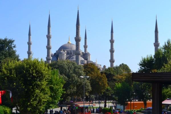 La Mezquita Azul, o Sultanahmet Camii