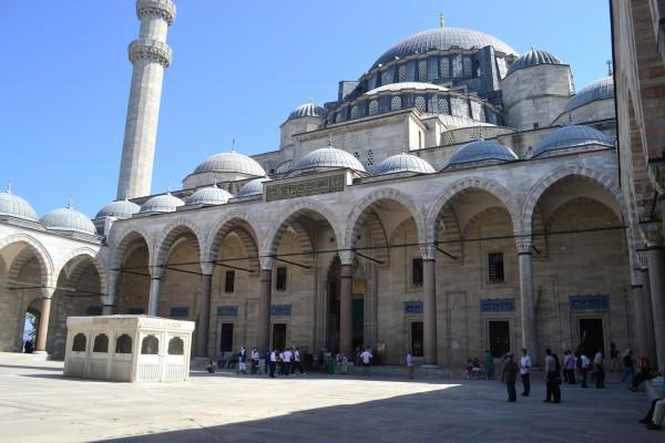 La Mezquita de Solimán el Magnífico, la más grande de Estambul