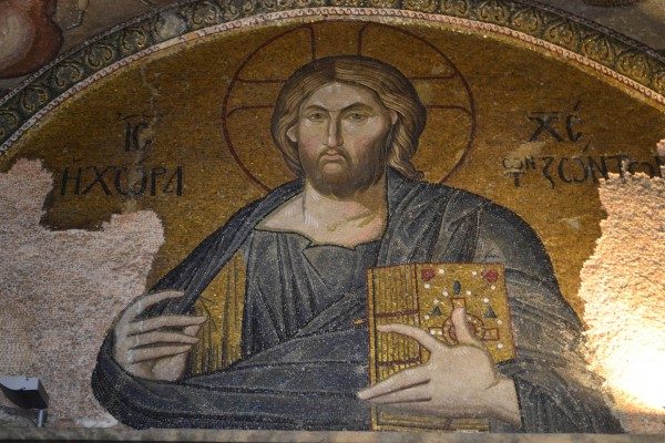 Mosaicos bizantinos en la Iglesia de Chora