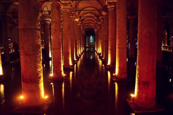 La Cisterna Subterránea, vestigios del Imperio Romano