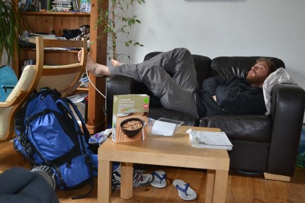 CouchSurfing en Edimburgo. El concepto, nunca mejor explicado!