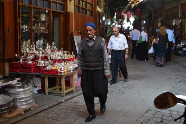 Imagenes típicas de un bazaar turco