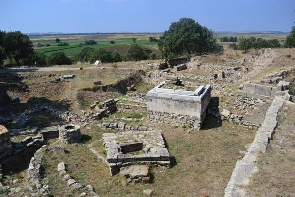 Santuario de las capas superiores de Troya (VIII y IX)