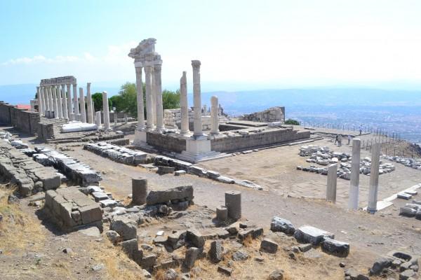 Templo de Trajano, Pergamon