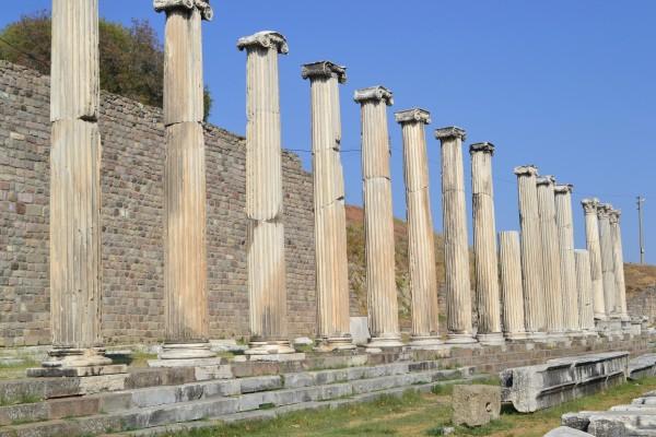 Asklepion, el centro de salud de Pergamon