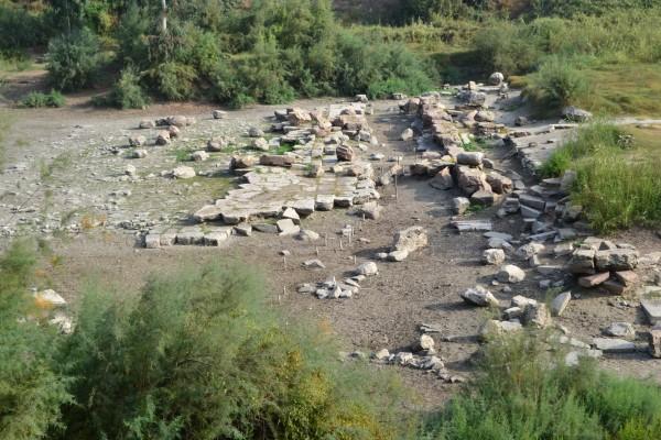Restos del Templo de Artemisa, en Efeso