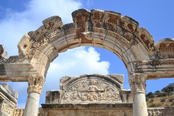 Templo de Adriano, en Efeso