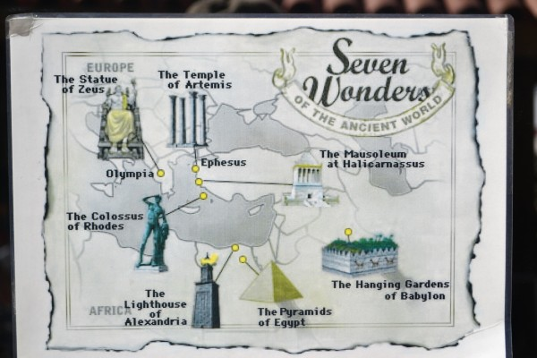 Las Siete Maravillas del Mundo Antiguo