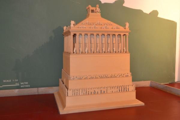 Reconstrucción del Mausoleo
