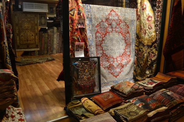 Negocios de alfombras del Grand Bazaar