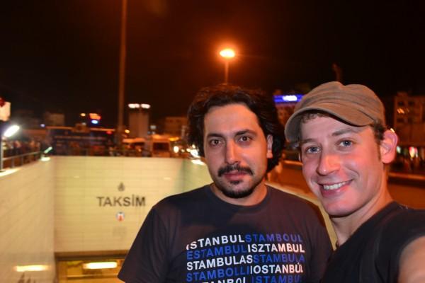 Yilmaz, mi anfitrión de CouchSurfing en Estambul