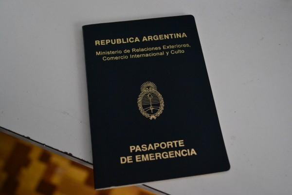 Pasaporte de Emergencia conseguido en Ankara