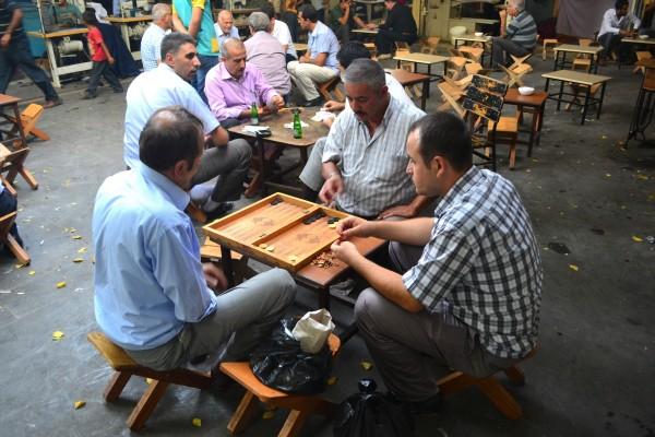 La vida en el bazaar de SanliUrfa
