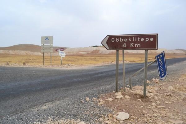 Camino al Santuario de Gobekli Tepe
