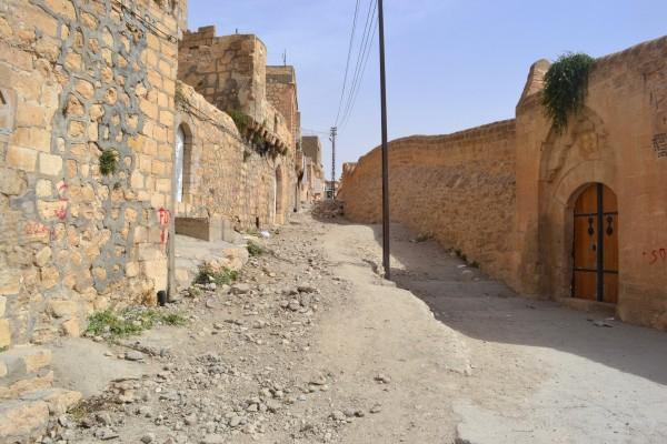 Callejuelas de Mardin con su típica arquitectura medio-oriental