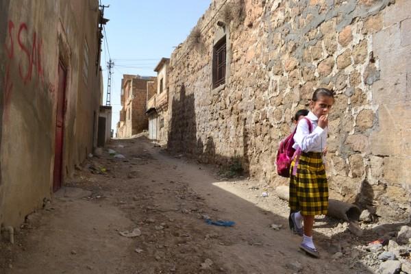 El particular estilo de vida en las calles de Mardin