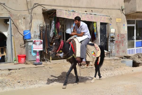 Medios de transporte modernos, en Mardin