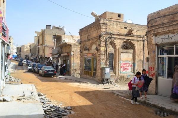 Calles de Mardin con su típica arquitectura medio-oriental