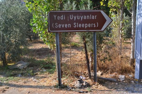 Cueva de los siete durmientes, en Efeso, según la antigua leyenda cristiana